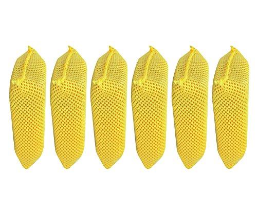 Iconikal Microfiber Bug Scrubber Sponge, 6-Pack