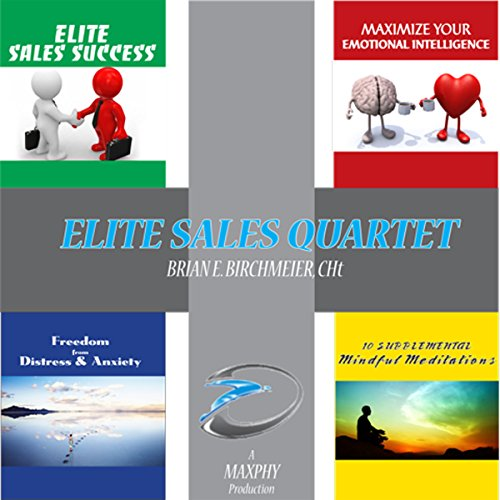 Elite Sales Success Quartet: 4 Books in 1 audiobook cover art