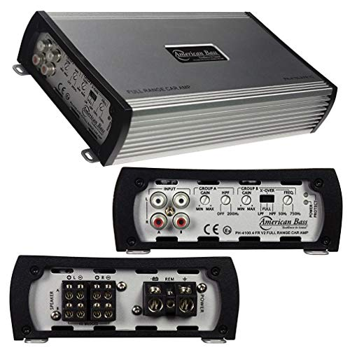 American Bass PH41004FRV2 Amp 4 Channel 2 Ohm Stable 480 Watts
