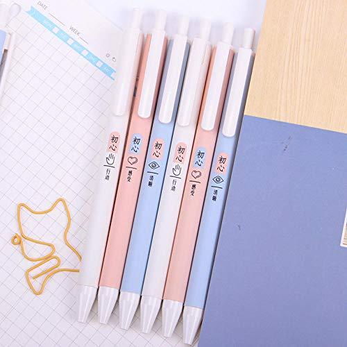 Gel Ink Pen 1 Stks Zwarte Inkt Vullingen Ondertekenen Pen Druk Naald Gel Pen Gift Briefpapier School Office Supply