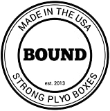 Bound 3-in-1 Wood Plyo Box - (30/24/20 - 24/20/16 - 20/18/16 - 16/14/12) - CrossFit Training, MMA,...