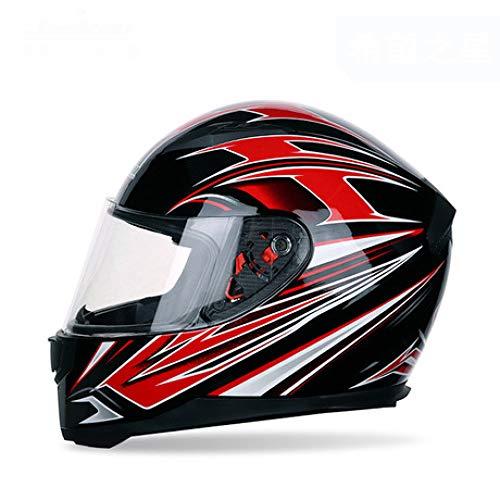 SUNHAO Motorhelm volledige helm warme winter sjaal volledige cover elektrische auto helm motorhelm XXL B