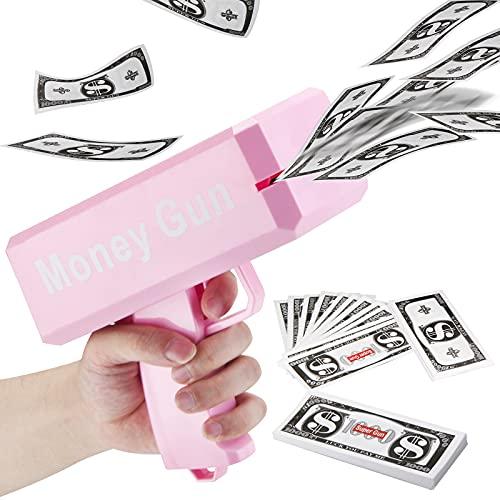 LUYE Money Gun Cash Rain Toy Guns 1…