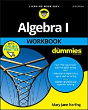 Algebra I Workbook for Dummies 3E with Online Practice