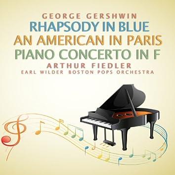 George Gershwin: Rhapsody in Blue; An American in Paris