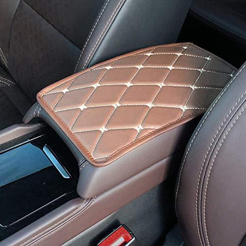 NASDIZL Car Armrest Mat UniversalAuto Armrests Storage Box Mats Dust-proof Cushion Cover