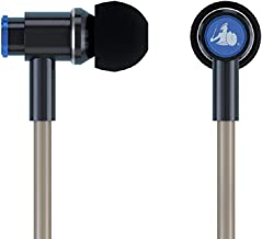 EMF-Free Earbud Headphones - Universal Anti-Radiation Air Tube Wired Stereo Headset with Microphone & Volume Control - Works with iPhone, Galaxy, iPad & Other Audio Devices