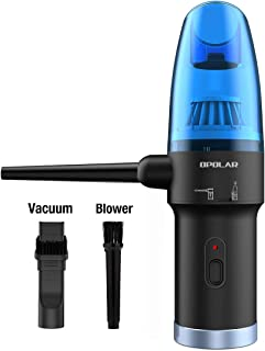 OPOLAR Newest Cordless Air Duster - Air Blower & Vacuum Cleaner 2-in-1 for Computer, Better Choice for Compressed Air Cann...