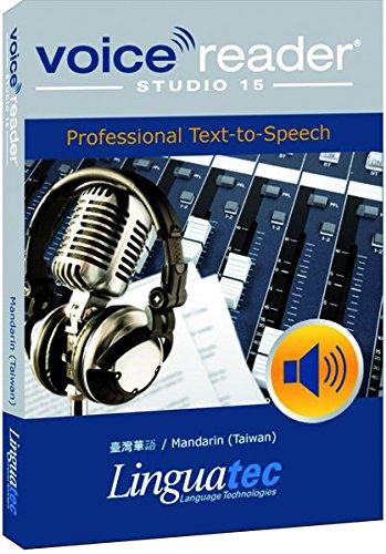 puissant Voice Reader Studio 15 Taiwanais Chinois / Mandarin / Chinois (Taiwan) – Professionnel…