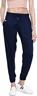 GO COLORS Women's Relaxed Fit Pants
