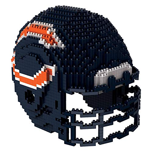FOCO NFL Chicagp Bears Helmet 3D BRXLZ Building Set