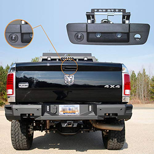 Auto derde dakbovenkant remlamp camera remlicht achteraanzicht ondersteuningscamera voor 2009-2018 Dodge Ram 1500 2500 3500 Tailgate handvat truch