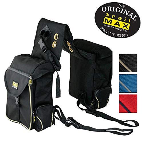 Trailmax 500 Back Saddle Pockets, Satteltasche Western Packtasche