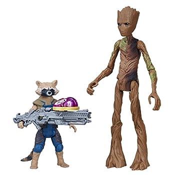 Marvel Avengers  Infinity War Rocket Raccoon & Groot with Infinity Stone