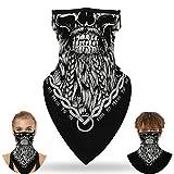 LXLTLB Headwear Bandanas Pasamontañas Máscara Facial para Ciclismo Moto Esquí Deportes De Invierno Antipolución Y A...