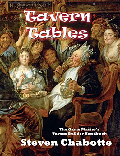 Tavern Tables: The Game Master