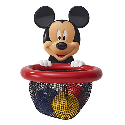 The First Years Disney Baby Shoot & Store Bath Toy, Mickey Mouse, Multi