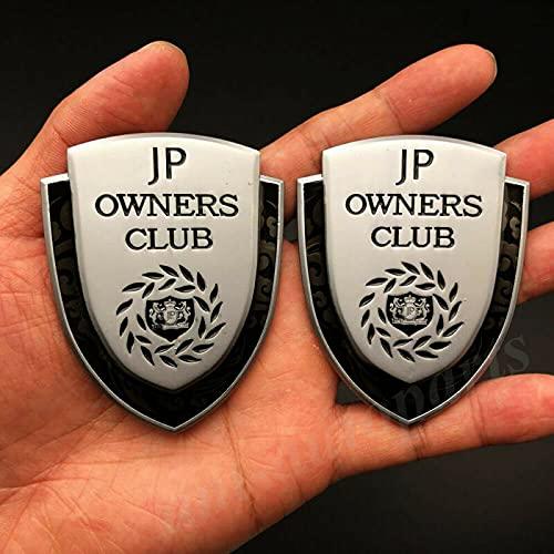 AOWIFT - Adesivo per auto con stemma JP PROPRIETARI CLUB VIP JDM