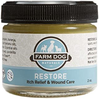Farm Dog Naturals - Restore Wound Care and Itch Relief Salve for Dogs