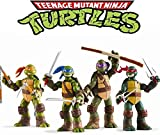 Ninja Turtles Set of 4 PCS Teenage Mutant Turtles...