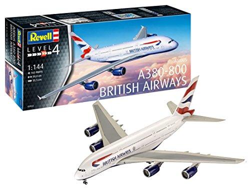 Revell- British Airways Maqueta Avión, 14+ Años, Multicolor, 50,4 cm de Largo (03922)