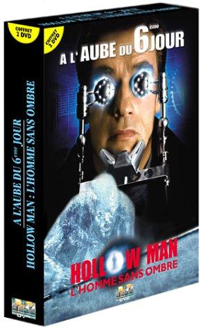 Coffret Science-Fiction 2 DVD : Hollow Man, l'homme sans ombre / A l'aube du 6ème jour