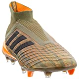 adidas Mens Predator 18+ Firm Ground Soccer Casual Cleats, Green, 9.5