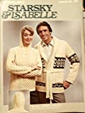 Starsky and Isabelle Hooded Fisherman Pullover & Nitted Wrap Sweater Pattern