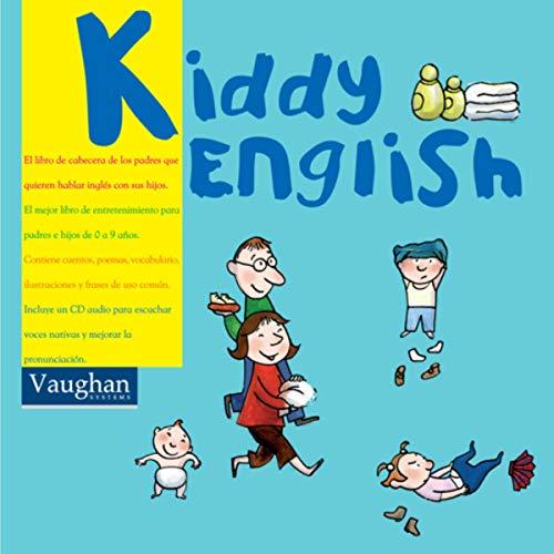 Diseño de la portada del título Kiddy English