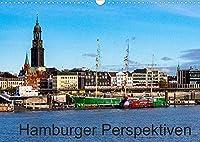 Hamburger Perspektiven (Wandkalender 2022 DIN A3 quer): Ein Besuch in der alten, neuen Hansestadt (Monatskalender, 14 Seiten )