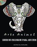Libro de colorear para adultos: Alivia el estrés coloreando animales
