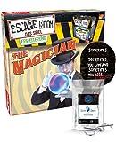 Escape Room Expansion The Magician – Juego familiar y de sociedad para adultos – Solo se puede jugar con el decodificador Chrono + 2 pegatinas Escape + 1 adorno de metal