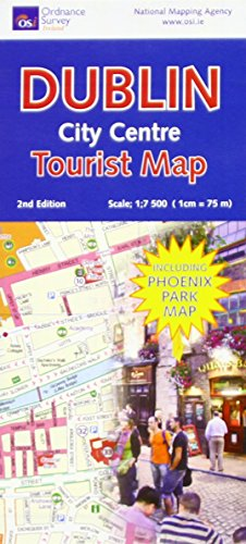 Dublin City Centre Tourist Map (Irish Maps, Atlases and Guides)