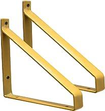 Suspense Plankbeugels, 2 stuks, geschikt voor moderne, industriële rekken met hoge prestaties, voor boekenrekken, slaapkam...