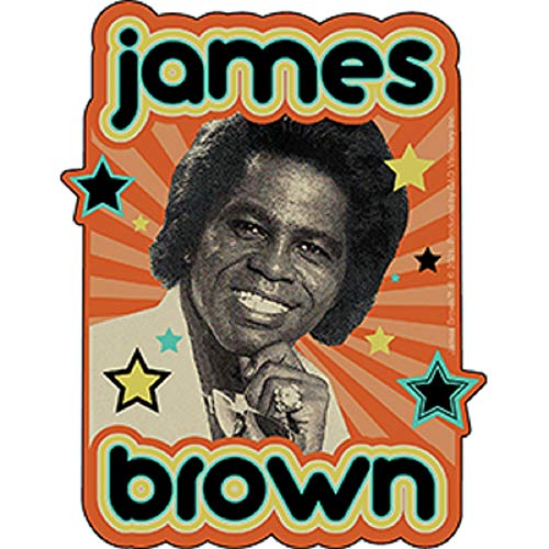 Brown James Stars Sticker - Officially Licensed Brown James Stars Orignal Artwork Sticker, 3.9' x 5'