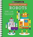 Sticker Puzzles Robots (Brain Games - Sticker by Letter)