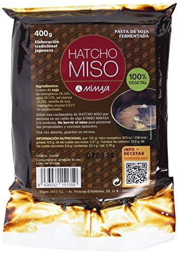 MIMASA HATCHO MISO (CEBADA) 400G NO PASTEURIZADO