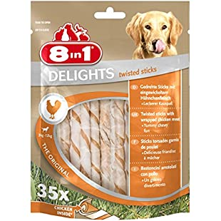8 in 1 Delights Twist Chicken Sticks, 35-Piece:Viralinfo
