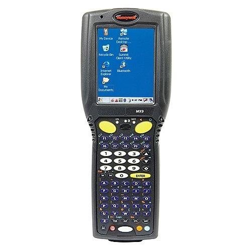 : MX9 Wireless Handheld Computer 62Key Alpha ANSI Lorax Laser 128MB RAM 128MB Flash CE 5.0 802.11BG   BT Ethernet
