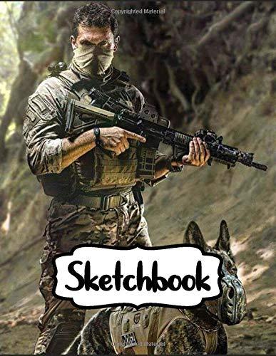 Sketchbook: Call Of Duty Ghosts Infinite Warfare Shooter Video Game World War...