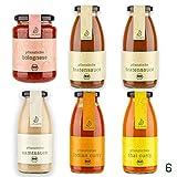 eatPLANTS pflanzliche BIO Saucen Probierpaket - 6 Flaschen 2x Bratensauce 1x Bolognese 1x Samtsauce...
