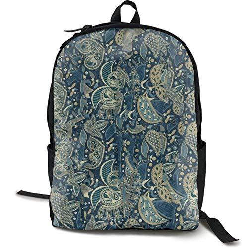 XCNGG Zaino per stampa full frame per adulti Zaino casual Zaino per scuola NiYoung Travel Backpack Laptop Backpack Large Diaper Bag - Funny Leaves Backpack School Backpack for Women & Men