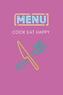 Eat up: Coocking notebook, 110 pages.
