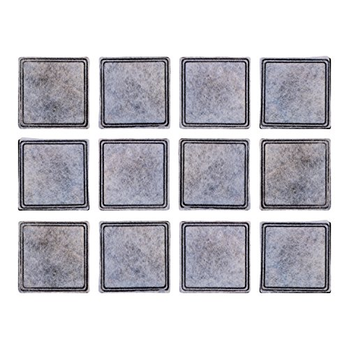 Filters for Aqua Fountain Aqua Cube, Aqua Fountain Aqua Falls and PetSafe Current Pet Fountains, Pack of 12
