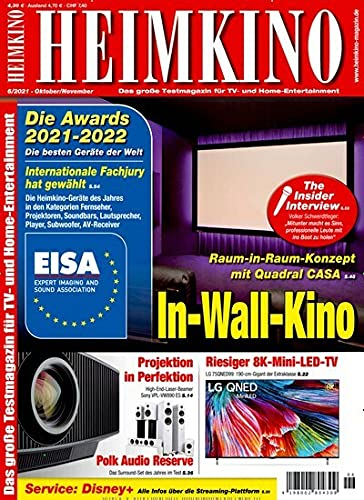 Heimkino smart-TV 6/2021