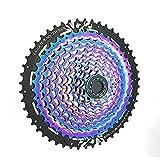 Niguleser Casete de Bicicleta de 11/12 velocidades Cassette de Bicicleta de montaña con Estructura Dividida 11-50T Compatible con Shimano Sram