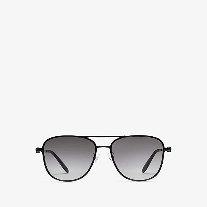 Alexander McQueen  AM0187SK (Semimatte Black/Grey Gradient) Fashion Sunglasses