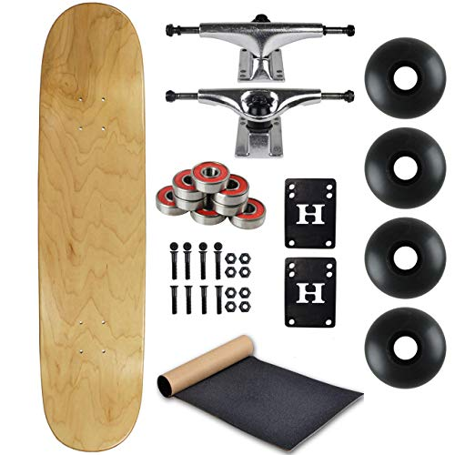 """BLANK COMPLETE Skateboard NATURAL 7.75"""" Skateboards"""