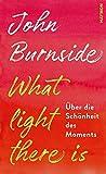 What light there is. Über die Schönheit des Moments von  John Burnside