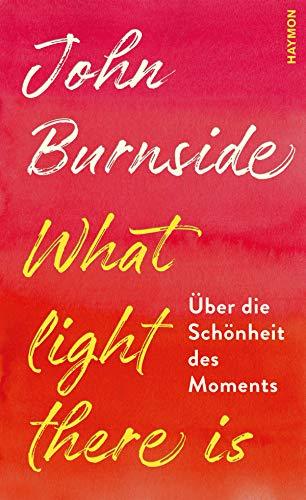 Buchseite und Rezensionen zu 'What light there is. Über die Schönheit des Moments' von  John Burnside